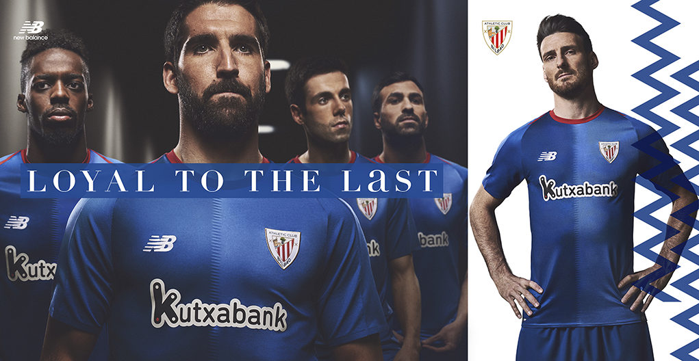 Segunda camiseta del Athletic Club 2018-2019